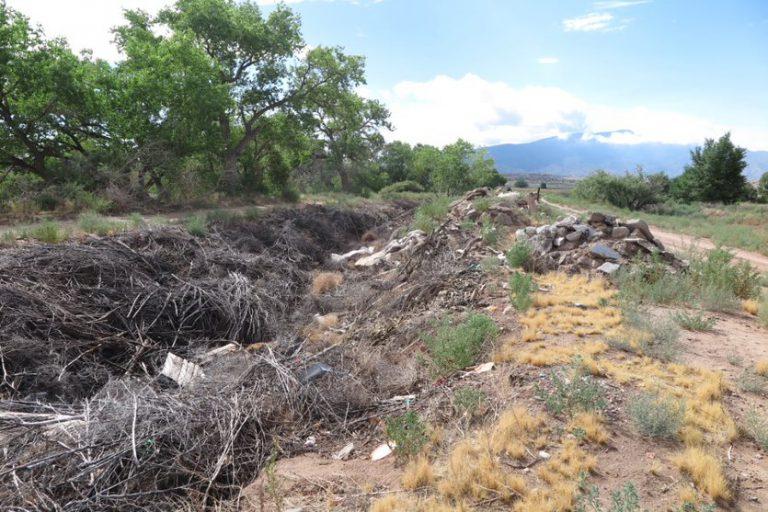 Santa Ana Wasteway Dump