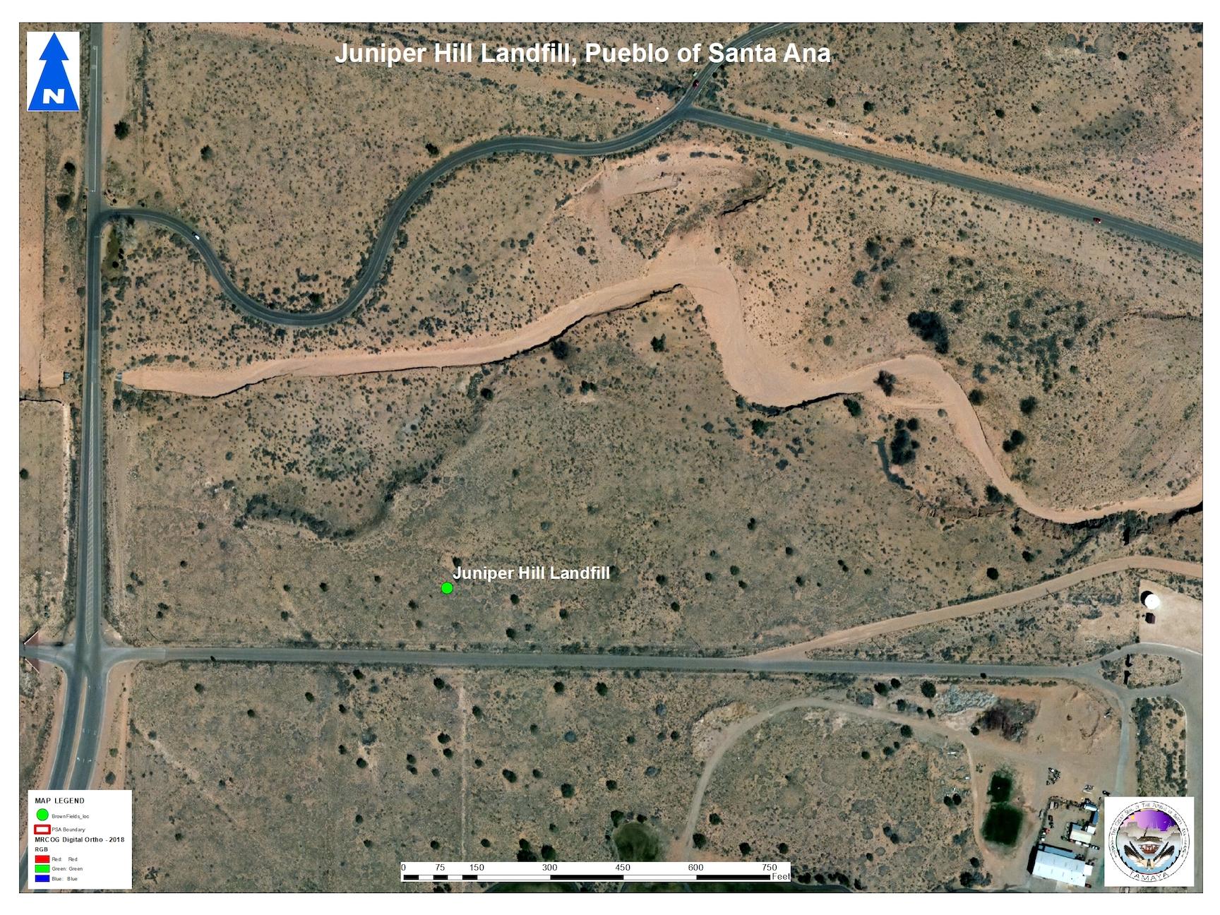 Juniper Hills Landfill aerial